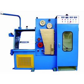 China Double Heads Scourer Wire Rod Drawing Machine , High Production Wire Drawing Equipment supplier