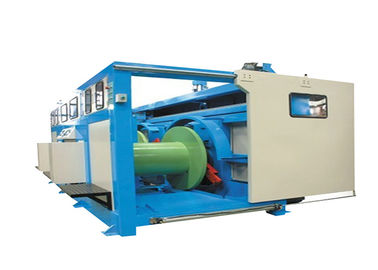 China PID Synchronous Spooler Straight Line Cable Drawing Machine With Continuous Annealing supplier
