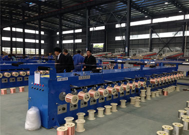 China Super Fine Wire Tubular Wire Annealing Machine And Tinning Machine For 0.05-0.127mm supplier