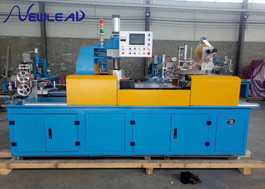 China Wire Winding Automatic Coiling Machine All In One With Type O Shape Twining Tool supplier