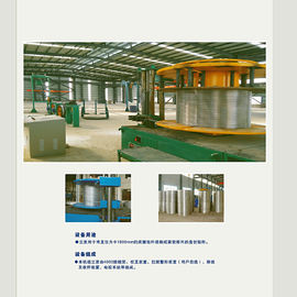 China Aluminium Rod Rewinding Machine Precision Wire Winding Machine With High Efficiency supplier