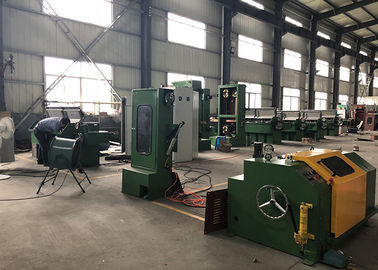 China Copper Clad Steel Wire Intermediate Wire Drawing Machine 17DG Shaft Type supplier