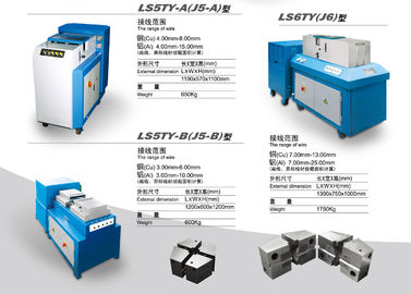 China Cold Welding Machine / Wire Making Machine 4mm To 8mm Cu And 4mm To 15mm supplier