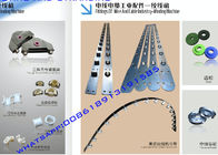 China Spare Parts Of Wire Bunching Machine Tranding Bow Guide Wire Pulleys / Porcelain Eye / Tension Gun factory