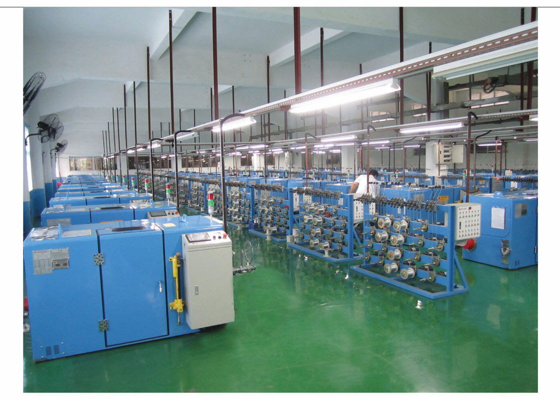 300P High Speed Double Twist Bunching Machine For Silver Jacketed Wires