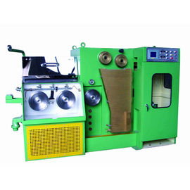 280 Online Wire Annealing Machine For 0.15-0.6mm Wire Range Compact Drawing Machine Line