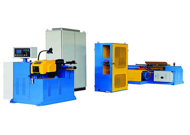 Aluminum Spray Wire Rewinding Machine For Spool Basket Coil Packing Way
