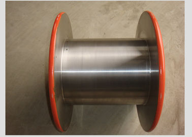 Double Layer Metal Bobbin For Wire Bunching Machine DIN200 To DIN1250 DIN46395 /DIN46397 Standard