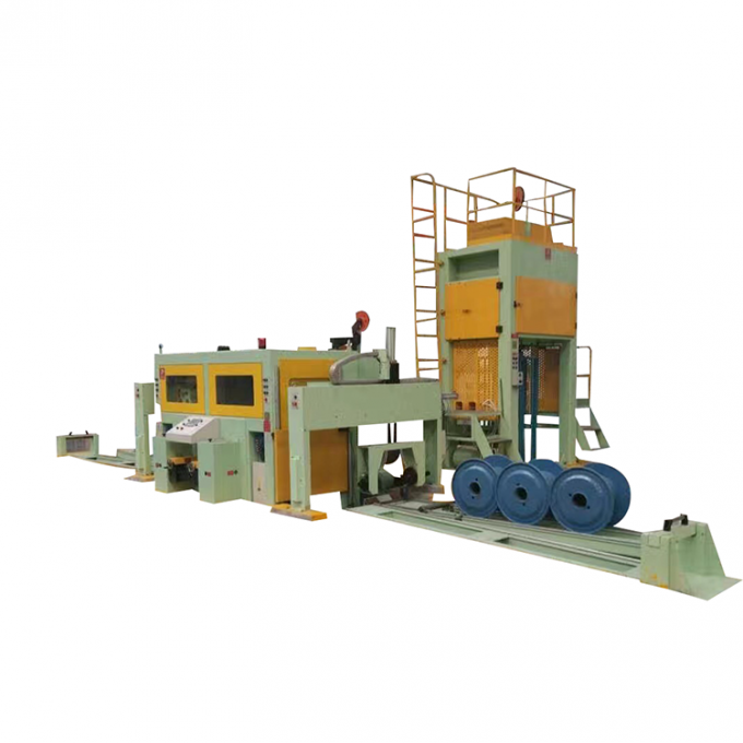 Single Portal Spooler Cable Drawing Machine , Automatic Loading Wet Drawing Machine