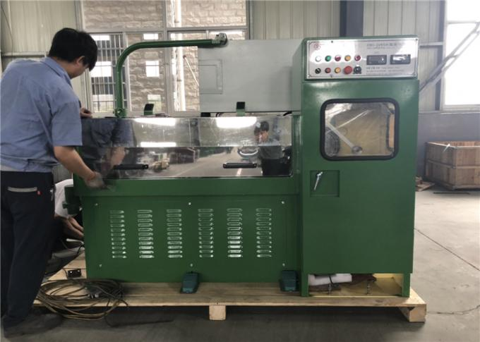 Horiztional Type 24WDS Copper Wire Drawing Machine To Produce Hard Wire 0.1-0.4