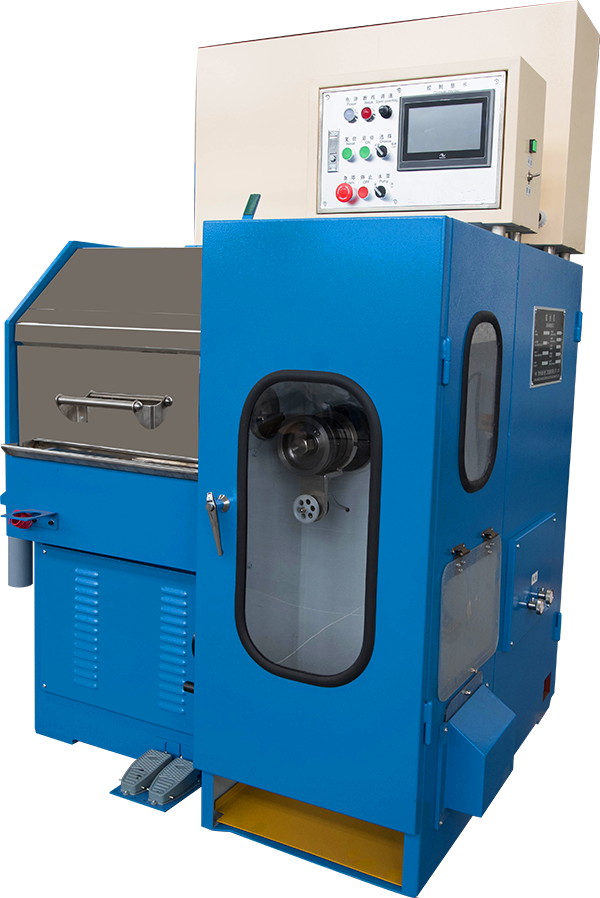 High Efficiency Copper Wire Extrusion Machine , Customized Wire Manufacturing Machine