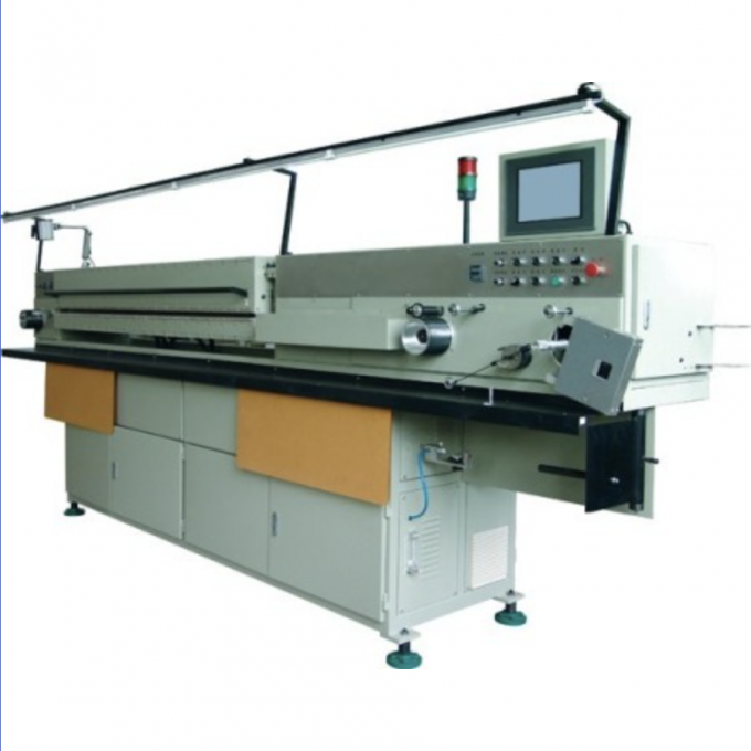 Intelligent Ultramicro Mag Enameling Machine , Flat Wire Copper Wire Manufacturing Machine