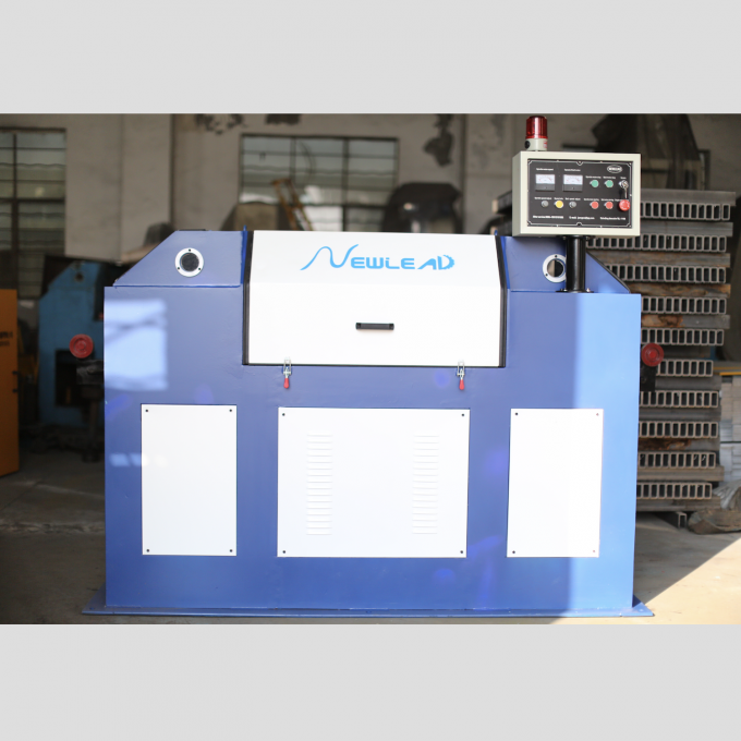 Automatic Wire Descaling Machine To Removal Rust By Sand Belt Grinding