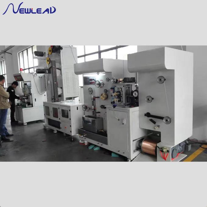 Copper Straight Wire Drawing Machine , Automatic Copper Wire Making Machine For PV Ribbon Rolling 0