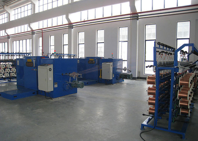 650DTB Wire Bunching Machine For Enamel - Insulated Wire Alloy Wire Twisting